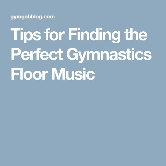 Tips for Finding the Perfect Gymnastics Floor Music