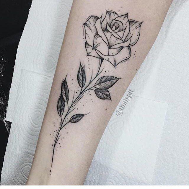 52 Unique Rose Tattoo Ideas Chic Better Rose Tattoos Rose Tattoo Upper Leg Tattoos