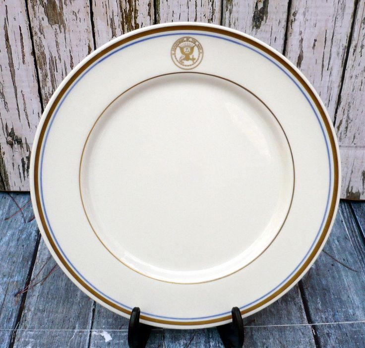 "Navy Plate * Shenango China * Department of the Navy 10"" Plate by ShadeTreeClassics on Etsy"