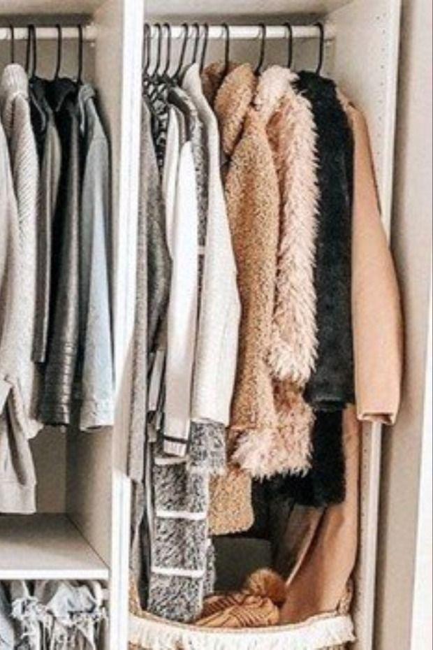 ٧ أشياء تعلمتها عند ترتيب خزانة الملابس Wardrobe Rack Wardrobe Outerwear