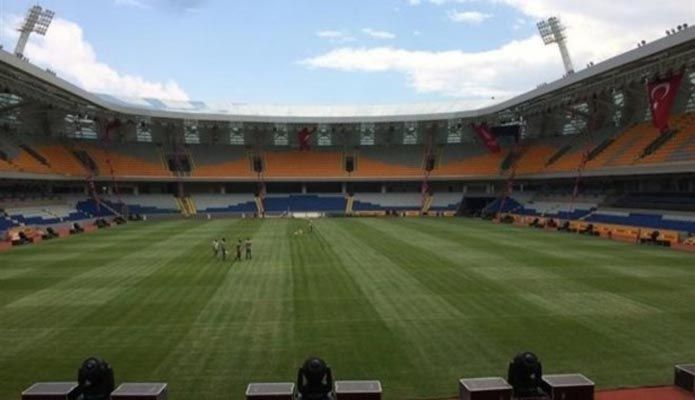 Başakşehir yeni stad son hali