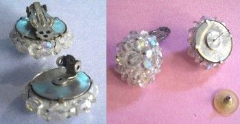 Vintage Earrings-How to retrofit earrings from the 40s and 50s | Vintage Style Files