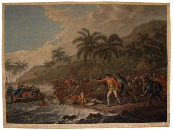 captain cook died