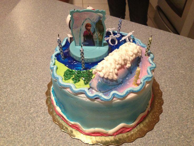 Disney Frozen Birthday Cake Publix Jpg 736x552