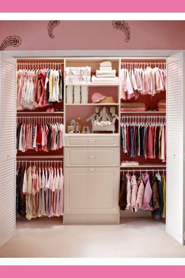 48423e8d5 Nursery Closet Organization  Easy DIY Baby Closet Pictures   Ideas ...