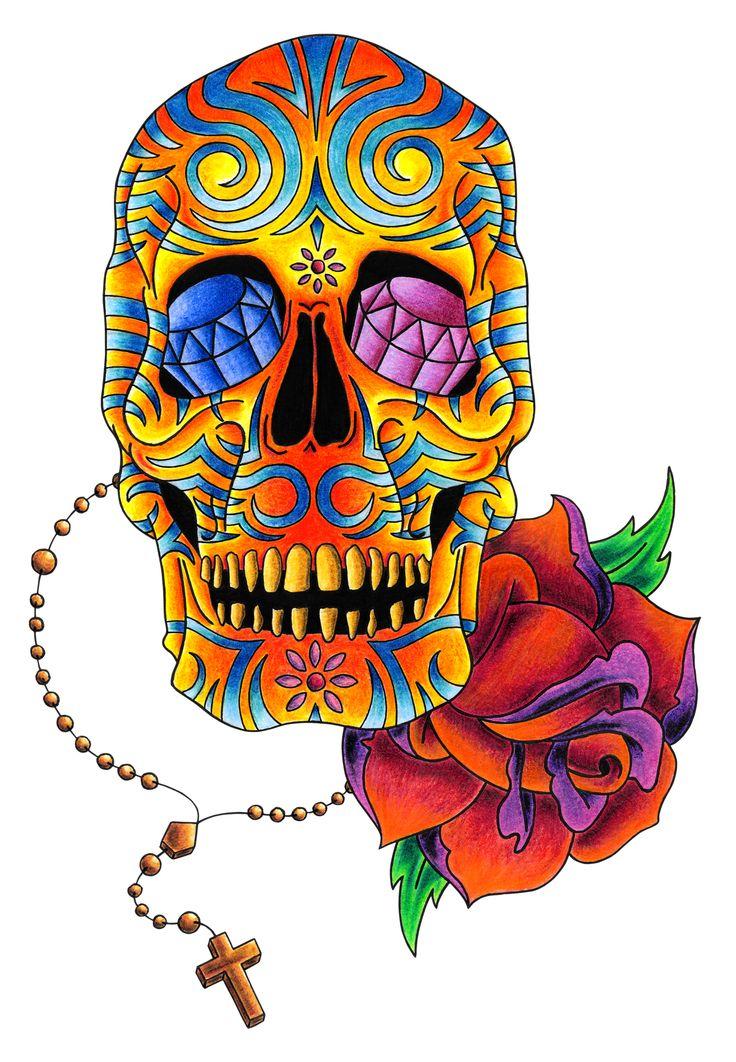 sugar+skulls | Sugar Skull