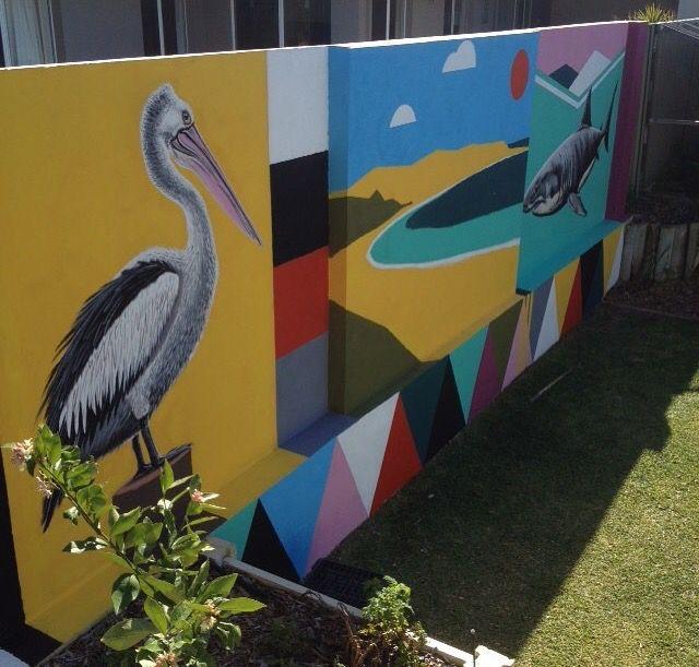Sea scene #art #artist #artwork #paint #painting #mural #streetart #perth