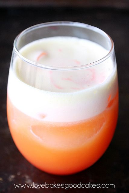 Cactus Cooler (4 cups orange juice 1½ cups pineapple juice ½ cup lemon juice Grenadine)