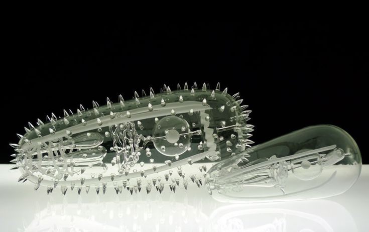 Malaria. These deadly glass sculptures by Luke Jerram represent diseases like HPV, malaria, and smallpox in their true, colorless form. His pieces are so accurate that they are used in academic settings throughout the world.