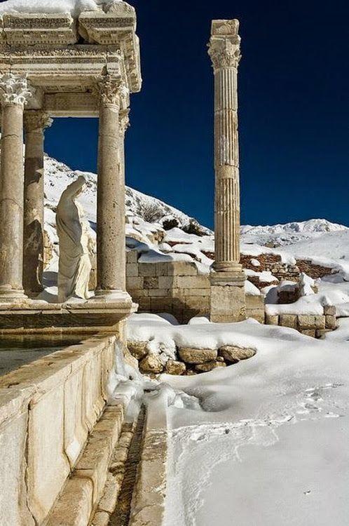 türkiye - toros dağları- sagalassos antik kenti