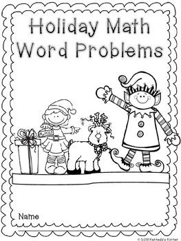FREE Holiday Math Word Problems