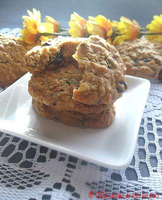 Ma cuisine de tous les jours: Biscuits inoubliables aux flocons d'avoine et aux raisins