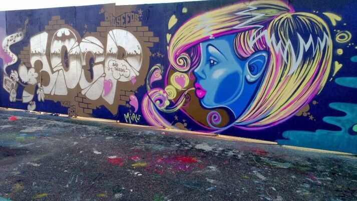 #graffiti #streetart #girlgraff