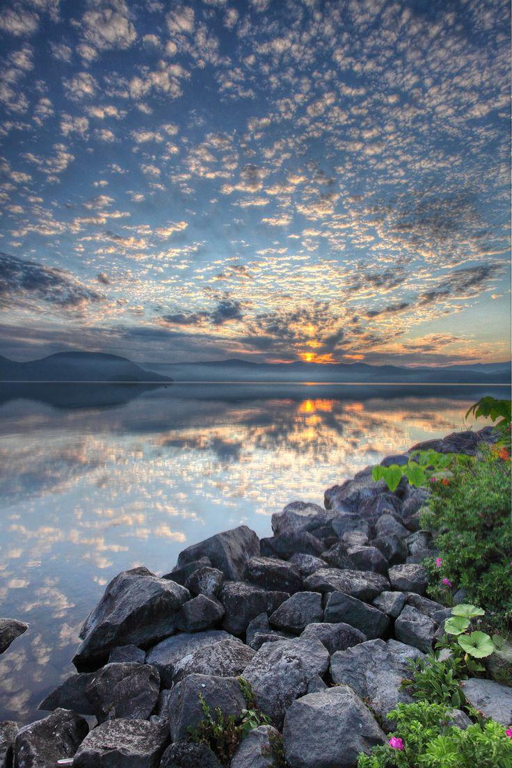 Lake Toya, Hokkaido, Japan ---------- beautiful picture
