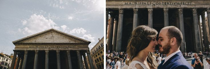Enjoy the history atmosphere in Rome is a good place for honeymoon