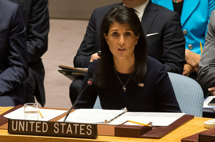 """Last Updated Sep 4, 2017 10:57 AM EDT   The United States' Ambassador to the United Nations on Monday said North Korean dictator Kim Jong Un was """"begging for war"""" with his continued defiance of international sanctions barring his country from nuclear and missile tests.... - #Begging, #Haley, #Korea, #News, #Nikki, #North, #War"""
