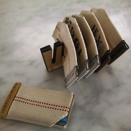 Fire Hose Wallet by Detroit Cargo
