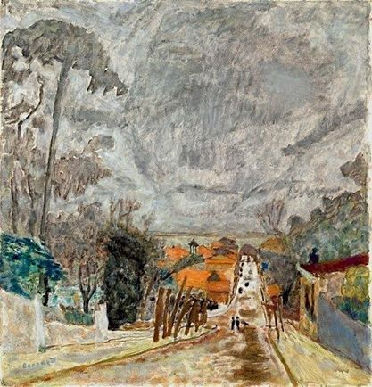 Pierre Bonnard (French, 1867-1947) - The Road to Nantes, 1929