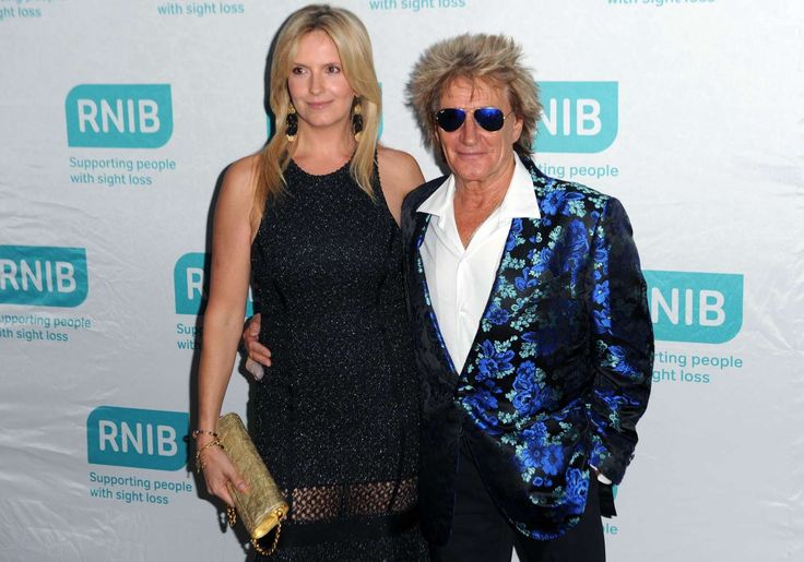 Rod Stewart and Penny Lancaster - Stuart C. Wilson/Getty Images