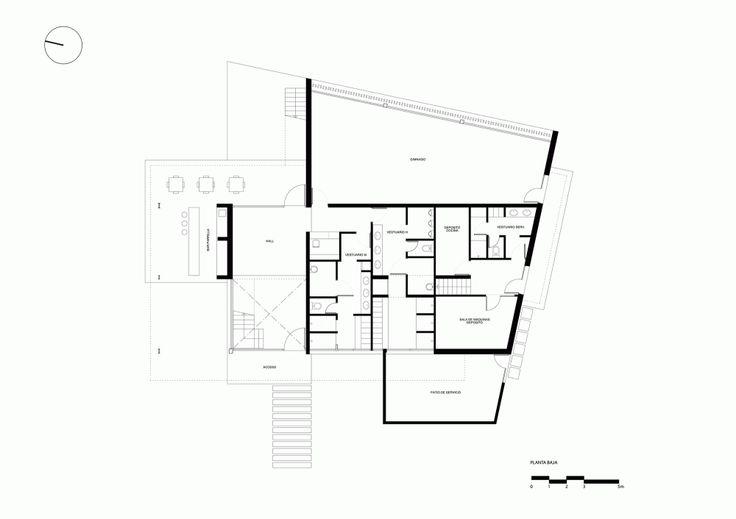 Gallery Of Yacht Clubhouse Estudio Ramos 20 Club House Yacht Ground Floor Plan Yacht house floor plan