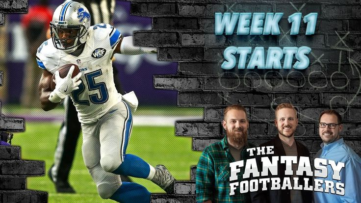 Fantasy Football 2016 - Starts of the Week, Week 11 Matchups, Boom-Boom! - Ep. #310 - Fantasy FootBall Videos