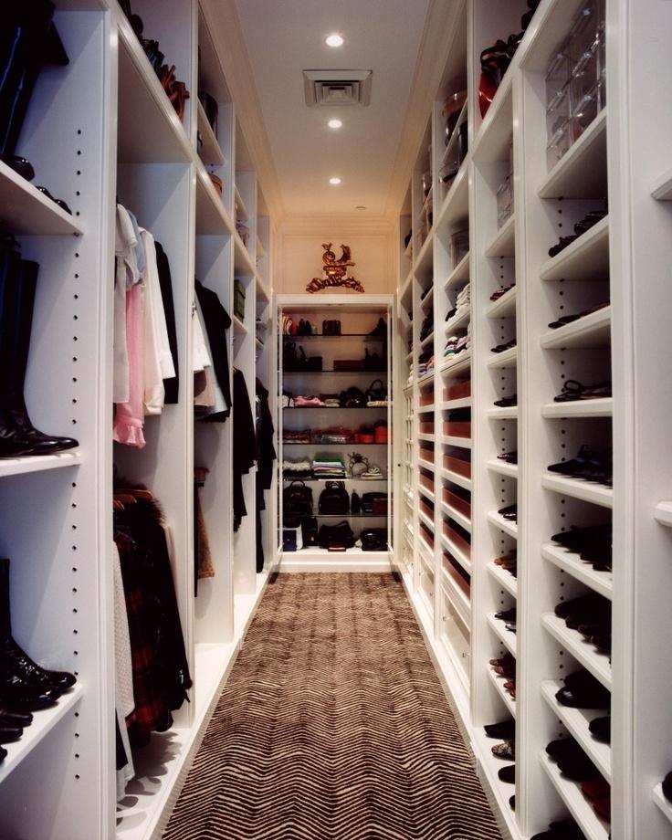 15+ Best Ideas About Narrow Closet On Pinterest