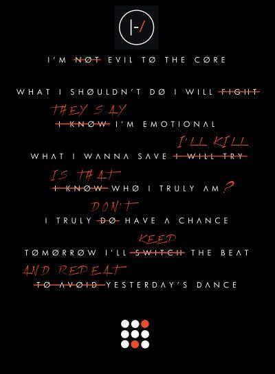 Lovely Lyrics Twenty One Pilots best 25+ twenty one pilots songs ideas on pinterest | twenty one