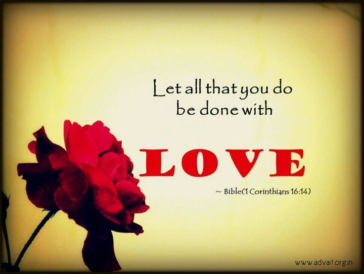 Let all that you do be done with Love. ~Bible  #ShriPrashant #Advait #bible #jesus #god  #love #action #awareness #understanding Read at:- prashantadvait.com Watch at:- www.youtube.com/c/ShriPrashant Website:- www.advait.org.in Facebook:- www.facebook.com/prashant.advait LinkedIn:- www.linkedin.com/in/prashantadvait Twitter:- https://twitter.com/Prashant_Advait