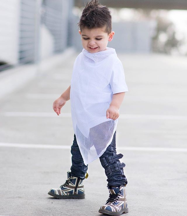 Oh that feeling  Super cool Liam wears The Crossing mesh luxe tee matched nicely with our super soft denim pants the M-502 featuring straps  See the full range today www.mischiefandco.com #afterpay and #zippay available at checkout  . . . . #mischiefandco #kidsfashion #kidsclothes #kidsclothing #kidsstreetfashion #kidsstreetwear #toddlerfashion #toddlerstyle #toddlersofig #influencer  #kidsootd #shopthelook #kidatshirt #luxetees #bloggermom #bloggerstyle #kidsstyles #2yearsold #4yearsold…