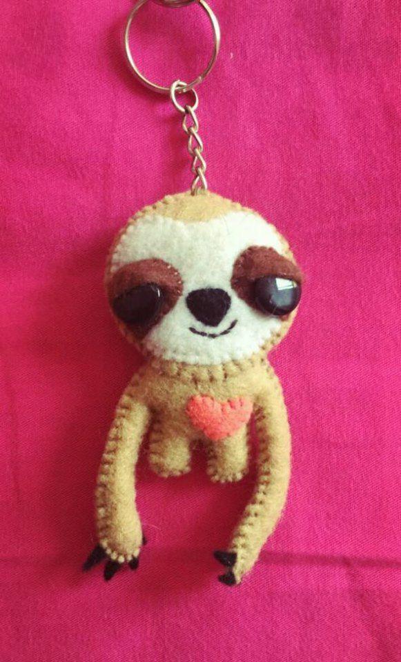 #Sloth Felt #oso perezoso