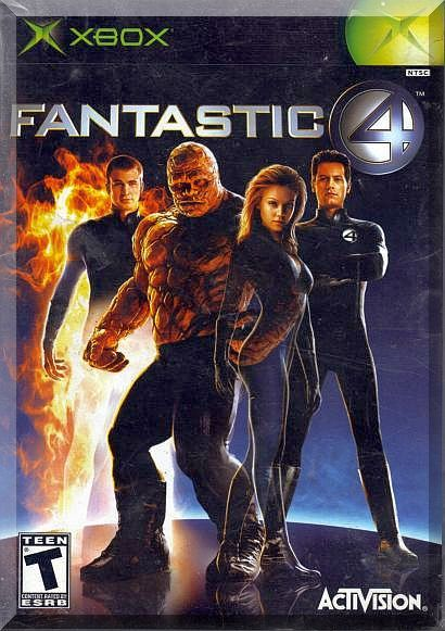 XBOX - Fantastic 4 (2005) *Jessica Alba / Marvel Comics / Movie Based Title* https://www.bonanza.com/listings/174991995