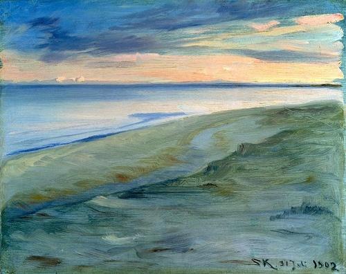 The Beach, Skagen, 1902, Peder Severin Kroyer