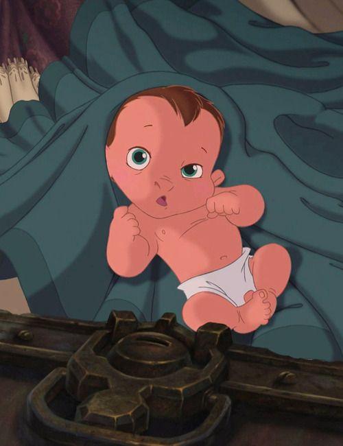 Tarzan is one of the cutest Disney babies in my opinion.