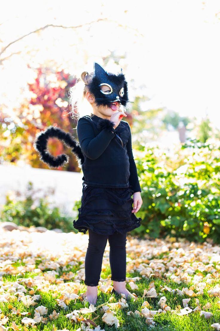 do it yourself divas: Little Girl Cat Costume for Halloween
