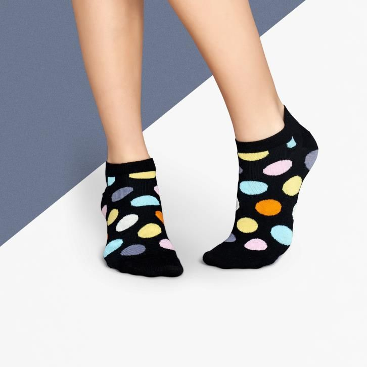 Get your Happy Socks on! It's finally the weekend! Feat. Big Dot Low Sock, available here -> http://www.theassemblystore.com/products/hs19 #theassemblystore #happysocks #socks #tgif #friday
