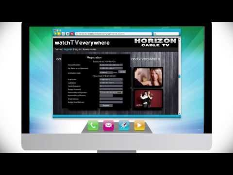 How To: Horizon Cable - WatchTVEverywhere #TVEverywhere #TVE