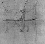 Marco Zanuso_1964_ disegno della sedia _La a_ per Gavina
