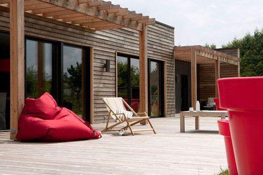 La démarche écologique de la maison en bois - 20 photos de maisons en bois futées - CôtéMaison.fr