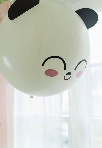 Baloon panda ~ Globo diseño panda :3