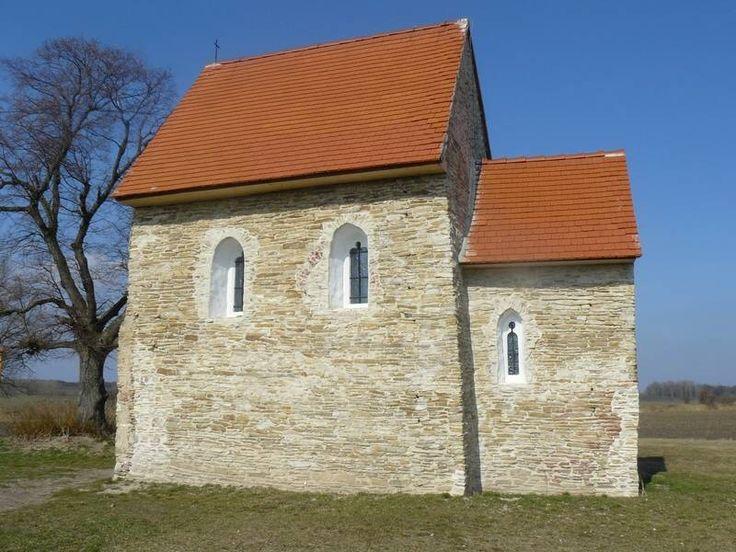 Kopčany, Slovakia, Great Moravia. One of the oldest churches in Slovakia.