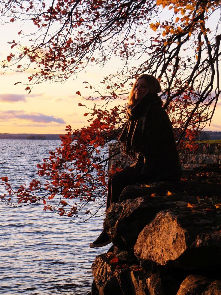 Taking off the November melancholy