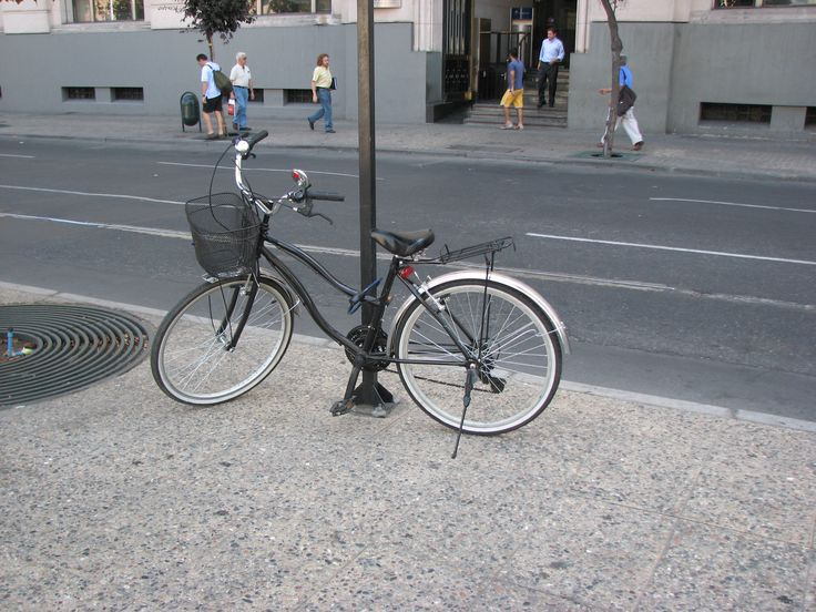 Bicicleta, Santiago de Chile, Feb. 2008