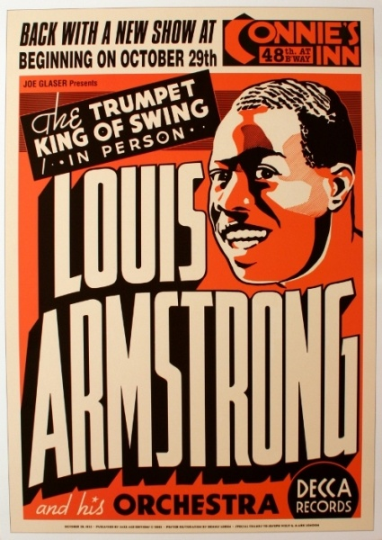 Louis Armstrong. 1935
