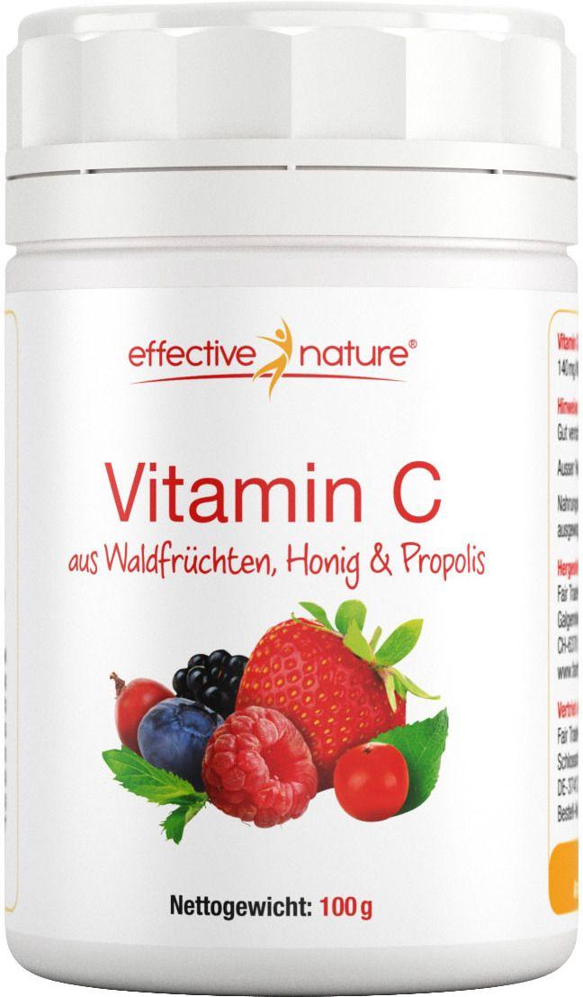 Was ist das Vitamin-C-Pulver aus Waldfrüchten von effective nature? Unser Vitamin C aus Waldfrüchten ist eine reichhaltige Kombination aus den natürlichen Extrakten einheimischer Beeren. Darunter finden sich wahre Vitamin-C-Bomben wie...