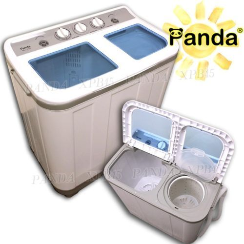 panda portable compact washing machine washer spin dryer