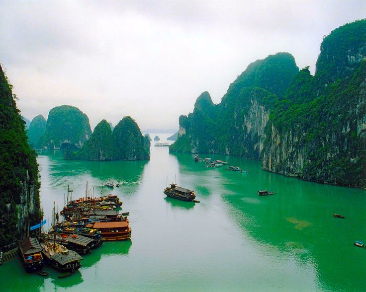 Halong Bay, Vietnam. C'mon @AdlinaAzhar - 2013!