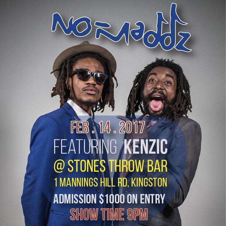 No-Maddz & Kenzic Live in Kingston, Jamaica  #Jamaica #Kenzic #Kenzic #Kingston #No-Maddz #No-Maddz #StonesThrowBar