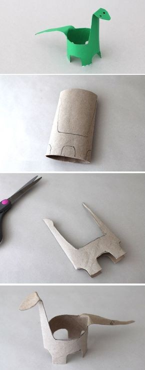 Paper roll craft.