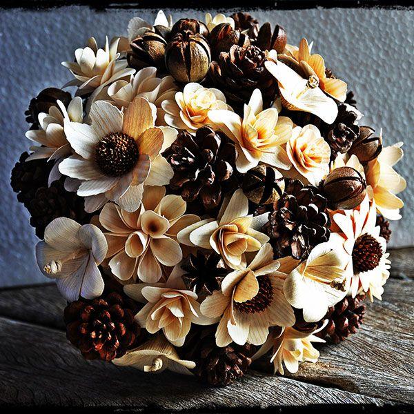 Winter Wedding Bouquets - Non Floral Bouquets   Wedding Planning, Ideas & Etiquette   Bridal Guide Magazine