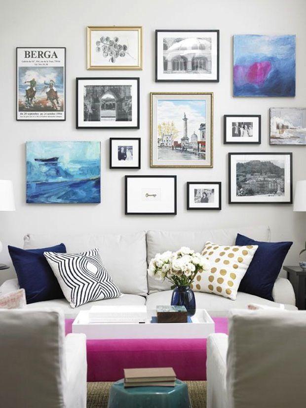 Постеры и картины в интерьере